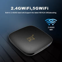Global Version US EU UK AU TV Box Smart TV 4K 3D Ultra HD Android 10.0 TV 5G WiFi USB Built-in BT 4.