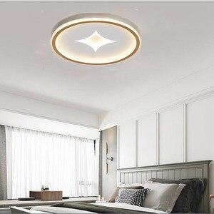 Nordic minimalist round led ceiling light 30W ultra-thin acrylic lamp dining balcony bedroom ceiling light