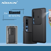 NILLKIN For Xiaomi Mi 10 case slide cover 6.67 for camera protection for xiaomi mi 10 pro case back cover for xiaomi 10 5G case
