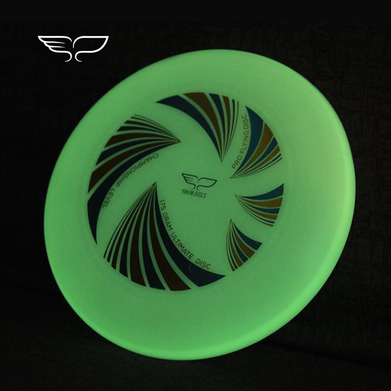YIKUN Professionelle Ultimative Fliegen Disc Zertifiziert durch WFDF Für Ultimative Disc Wettbewerb Sport 175g