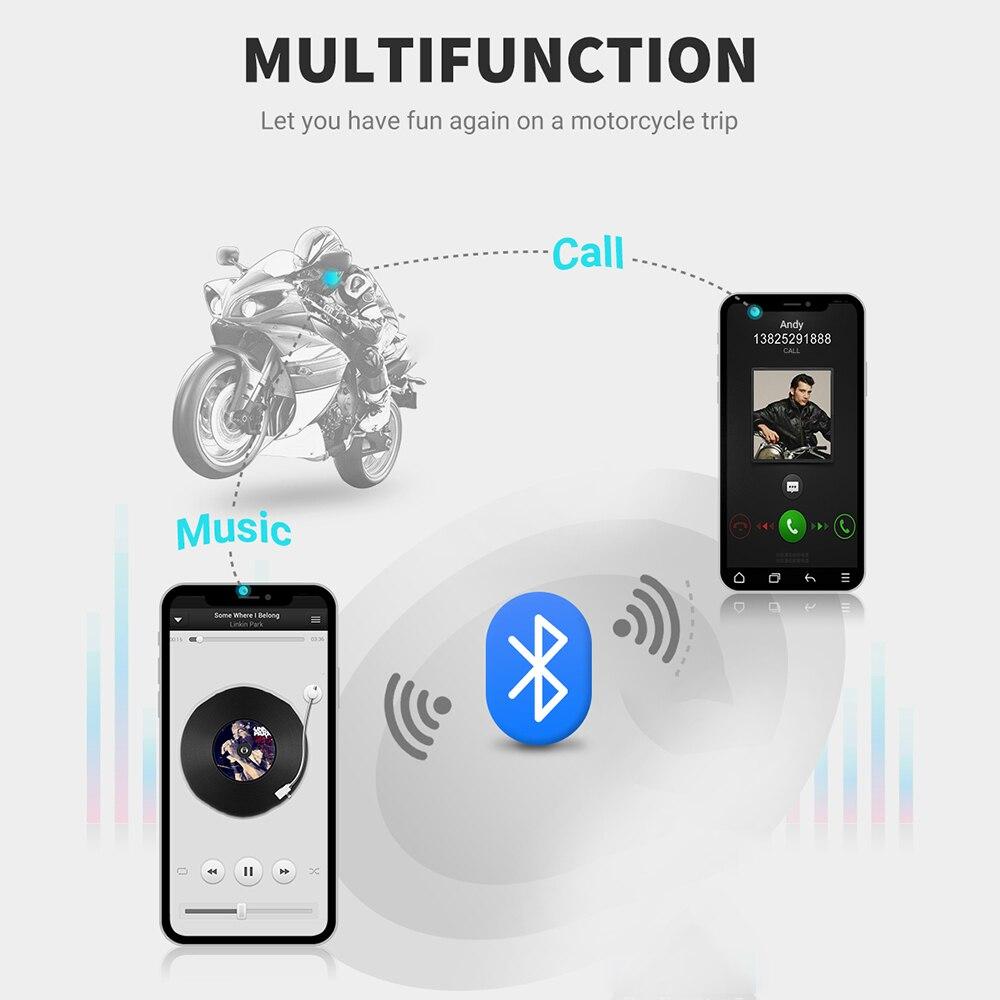 Bluetooth 5.0 Motor Helmet Headset Wireless Handsfree Stereo Earphone Motorcycle Helmet Headphones Mp3 Speaker Helmet Intercom enlarge