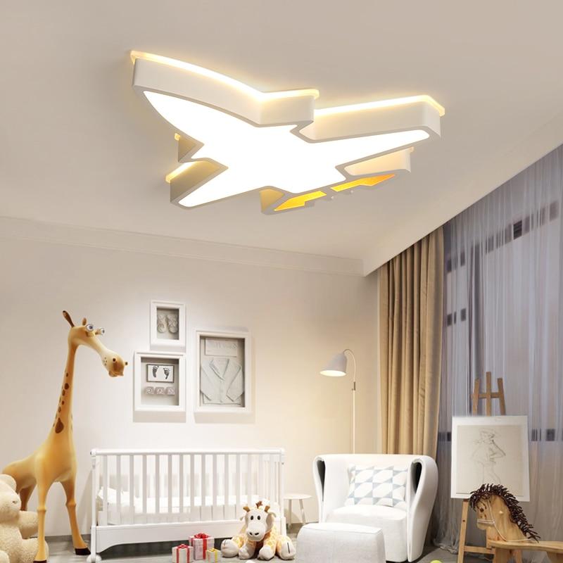 Iluminación para habitación de niños, lámpara de techo moderna, lámpara de techo Led para habitación de bebé, habitación de estudio, Luminaria LED, luces de techo de 220V