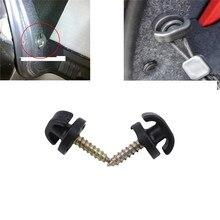 Vis de crochet de coffre arrière de voiture   Enveloppe universelle de coffre arrière de voiture de 4 pièces filet de cargaison, anneau de crochet suspendu crochet pour le coffre