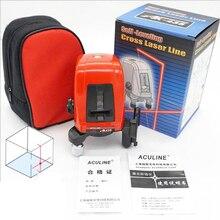 AK435 Mini Laser Level 360 Degree Self-leveling Cross Laser Leveler Laser Line 2 Line 1 Dot Vertical Horizonatal Tools