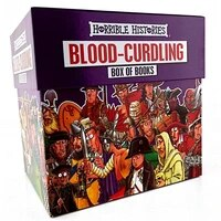 horrible histories blood curdling 20 books kids collection library box set new