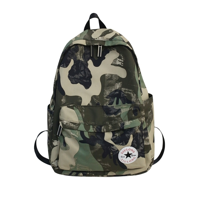 Camouflage Backpack Brand High Quality Water Proof Oxford Leisure or Travel Bag Large capacity portable Unisex School Bag