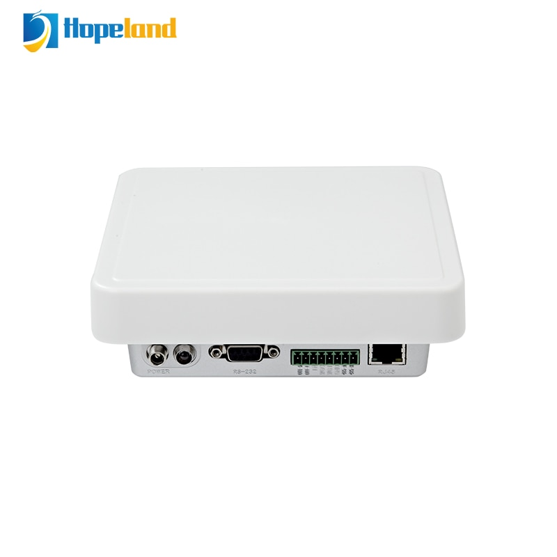 Hopland CL7206B7A UHF تتفاعل اللاسلكية قارئ ثابت لوحة المفاتيح مضاهاة صغيرة الحجم TCPIP 8 متر متعددة العلامات