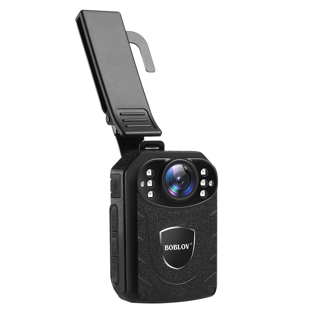 Boblov KJ21 Переносная Камера HD 1296P видео рекордер камера безопасности ИК ночного видения носимые мини видеокамеры полицейская камера