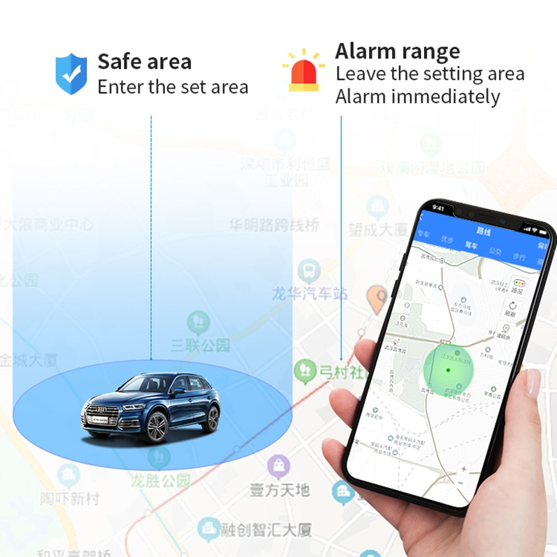 GF22 Car GPS Tracker Strong Magnetic Small Location Tracking Device Locator For Car Motorcycle Truck Recording For Sos Alarm enlarge