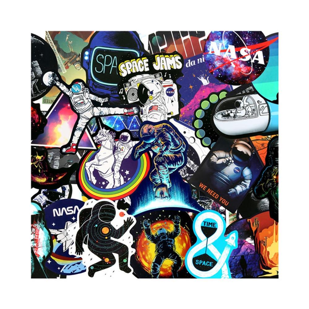 10/30/50 креативный космический корабль Созвездие граффити Наклейка мотоцикл водонепроницаемый багаж фотоигрушка оптовая продажа