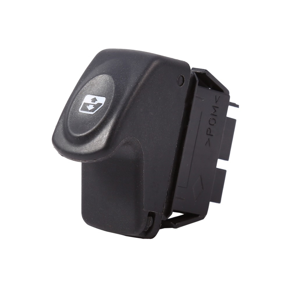 Interruptor de Control de ventana eléctrica para coche de 6 pines para Renault Clio II 2 Megane I Kangoo interruptor de Control de ventana