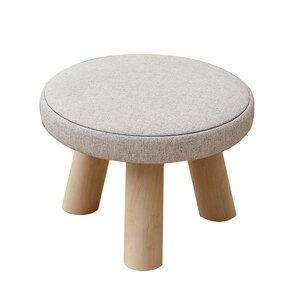 Stool Home Bench Modern Minimalist Shoe Changing Stool Fashion Creative Solid Wood Square Stool Dining Stool Small Chair