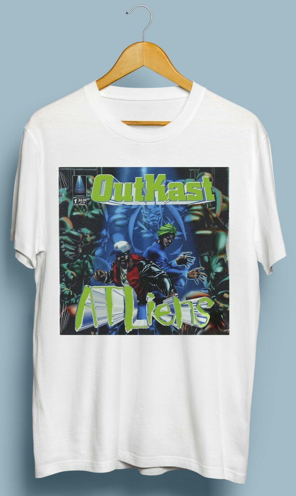 Vintage Outkast Atliens camiseta de Hip-Hop 2019 Unisex Tee