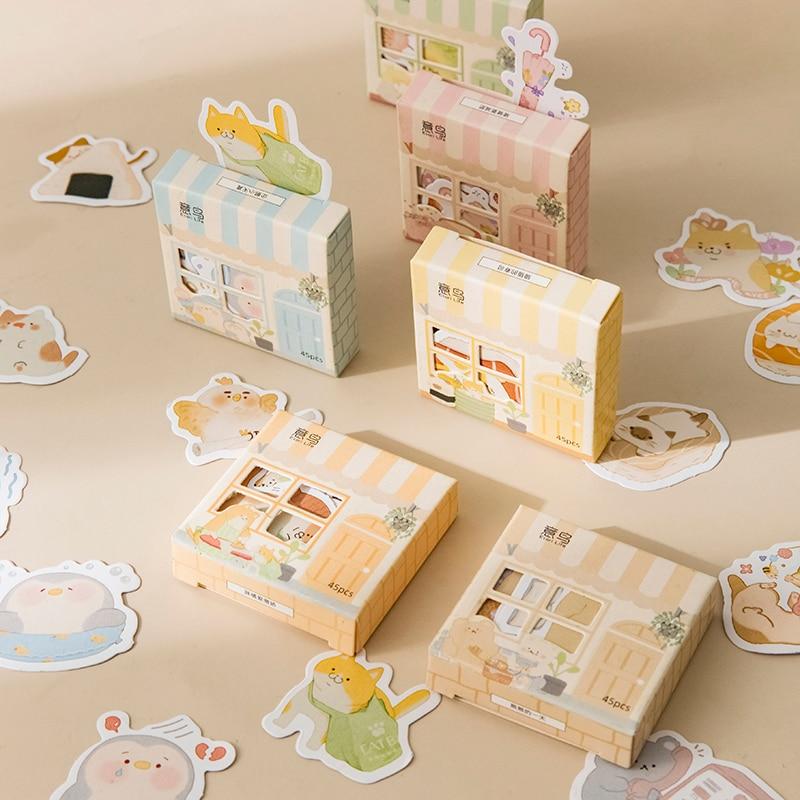 45-unids-caja-casa-linda-pegatinas-creativo-de-forma-especial-de-dibujos-animados-pegatinas-scrapbooking-lacteos-decoracion-pegatinas-diy-papeleria