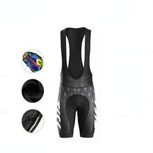 KTCK cycling bib shorts men mountain bike sports team cycling shorts women Gel filled socks breathab