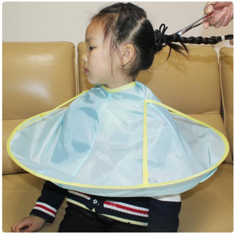 1 Uds., accesorios para el cabello para bebés y adultos, urdimbre para el cabello DIY, capa de corte de pelo, capa de paraguas, salón, Barbero, hogar, peluquería, capa, cubierta de tela