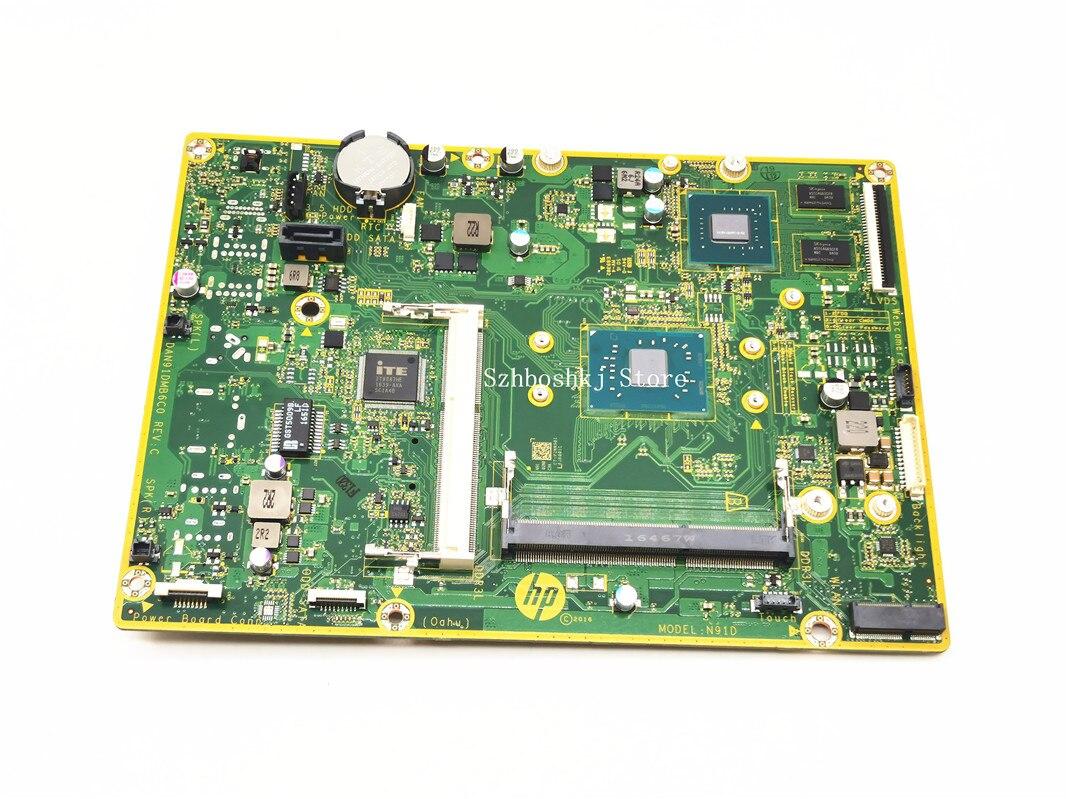 DAN91DMB6C0 ل HP AIO b013w 20-c 22-b 24-g اللوحة مع وحدة المعالجة المركزية J4205 SR2ZA 100% اختبار بالكامل