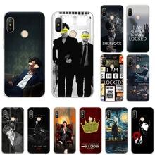 Sherlock Holmes couronne bénédicte coque de téléphone en silicone souple pour Xiaomi Mi Note10 9T CC9 9 8 A3 Play A2 6x Redmi Note 8T 8A 7 5 6 4x