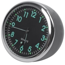 Mini Clock In Car Mechanics Quartz Clock Mini Car Watch Digital Car Clock Automobile Clock