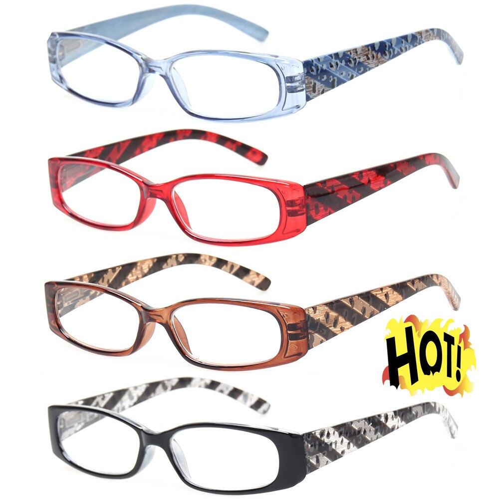 Gafas de lectura Henotin de moda para hombre y mujer, diseño de bisagra de primavera, lector de cuadros cuadrado diopter 1,5 1,75 2,0 3,5...
