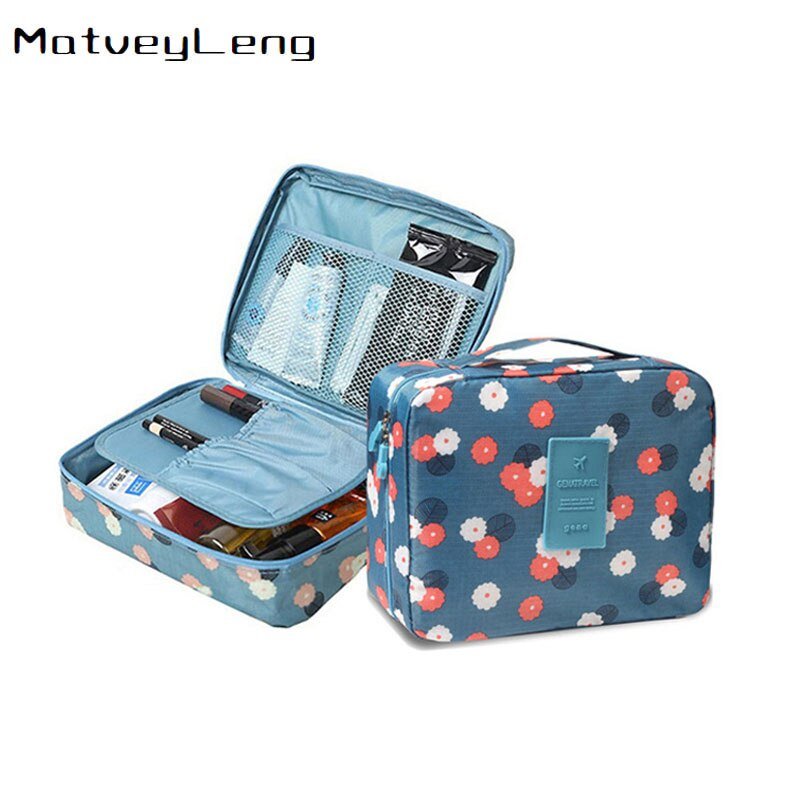 Multifunction Man Women nylon Cosmetic bag Makeup bag beauty Case Make Up Organizer Toiletry bag kits Storage Travel Wash pouch