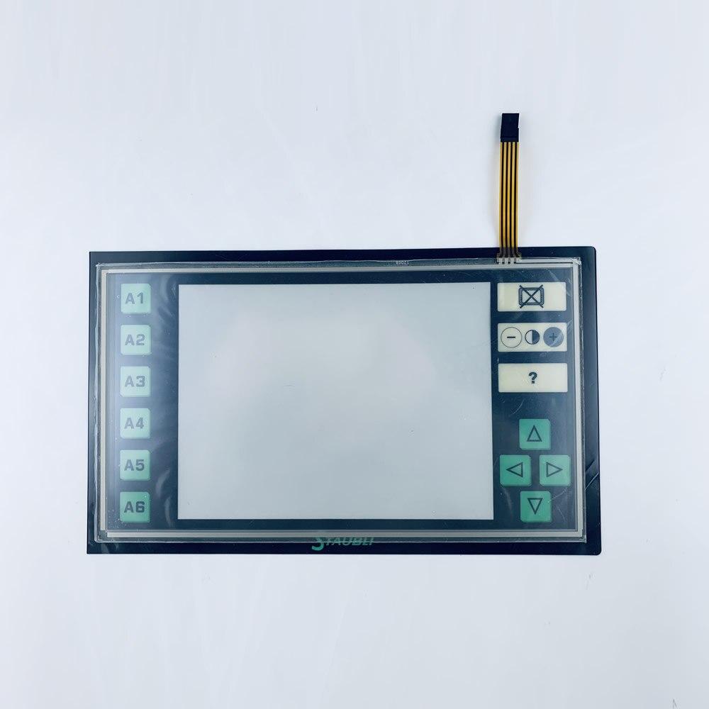 Staubli JC5 لوحة شاشة لمس + طبقة رقيقة واقية لإصلاح مناور ~ تفعل ذلك بنفسك ، جديد ولها في الأوراق المالية