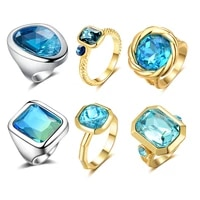 mytys fashion crystal rings collection cocktail statement ring for women party jewelry