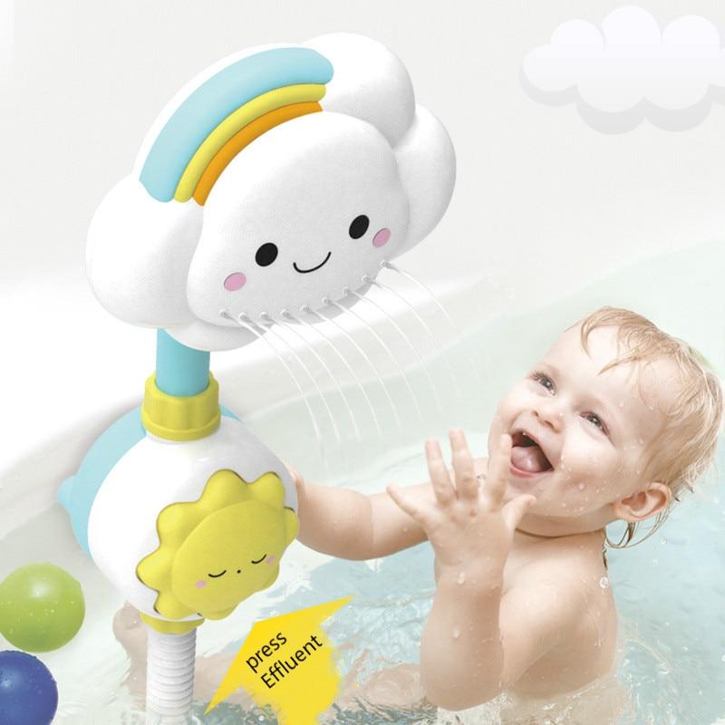 Детские игрушки для душа, новое облако, радужная электрическая душевая кабина, Игрушки для ванны, Детские Игрушки для ванны, Детские Игрушки...