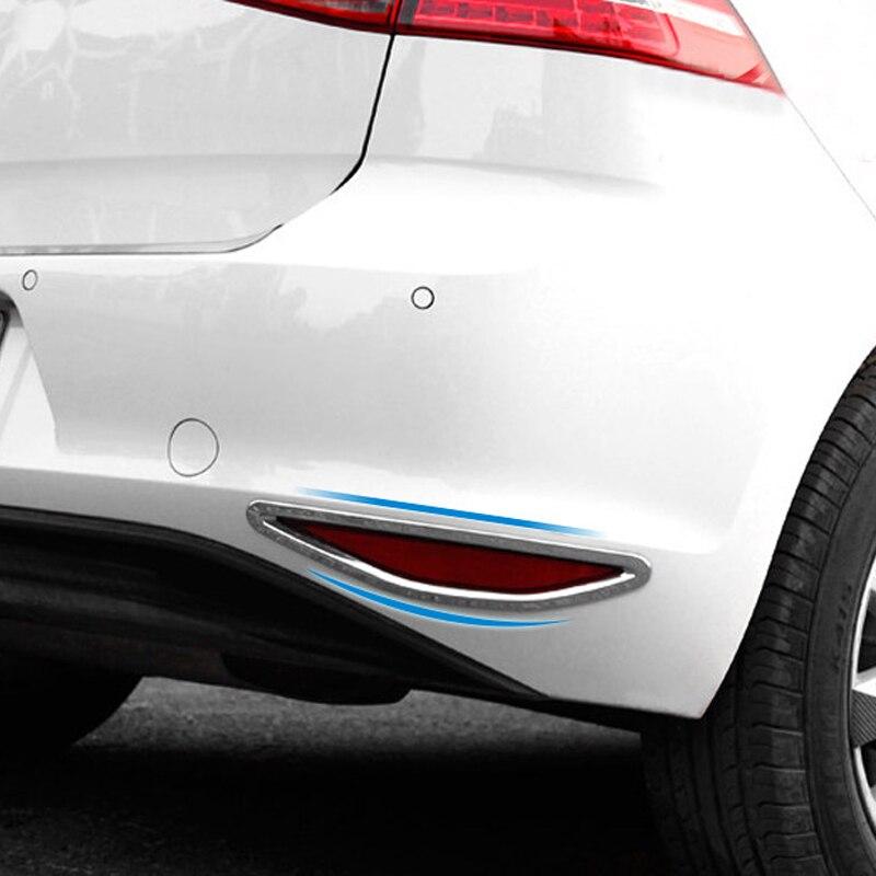 Ajuste para VW Volkswagen Golf 7 Mk7 2013-2016 Auto Accesorios Coche cromo...