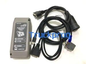 Image 3 - V1.73.3 для JCB диагностический комплект JCB электронный сервисный Инструмент JCB Экскаватор грузовик диагностический комплект + Сервис JCB сервисные части pro SPP программное обеспечение