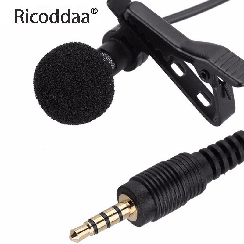 Микрофон клип на воротник галстук мобильный телефон петличный микрофон Микрофон для iOS Android сотовый телефон ноутбук планшет запись