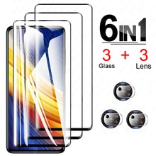 For Poco X3 Pro Screen Protector Glass for Xiaomi Poco X3 Pro Tempered Glass for Poco F3 M3 X3 Nfc P