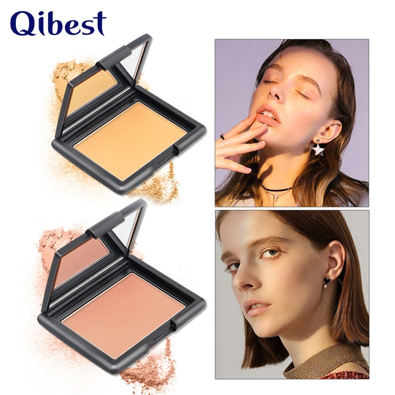 Nuevo contorno maquillaje polvo paleta impermeable de larga duración mate Control de aceite Corrector de cara Natural Corrector maquillaje cosméticos