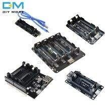 18650 16340 batterie au Lithium bouclier V9 V8 V3 Module de carte dextension de puissance Mobile 5V/3A 3V Micro USB type-c pour Arduino ESP8266