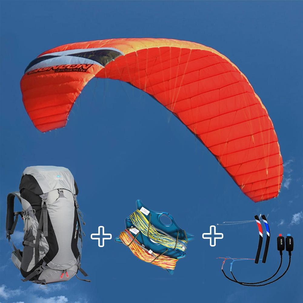 نيرف 7sqm المهنية رباعية خط الطاقة طائرة ورقية ل Kitesurfing Kiteboarding الرياضة في الهواء الطلق مع مجموعة الطيران وكتاب التعليمات