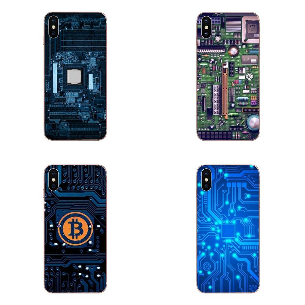 Para Huawei Honor Mate 7 7A 8 9 10 20 V8 V9 V10 V30 P40 G Lite jugar Mini Pro P celular inteligente caso de la tecnología de circuito de la placa base