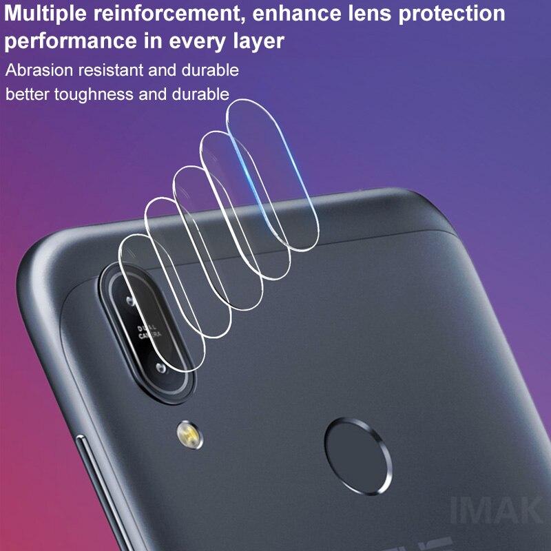 Nuevo 2019 para Asus Zenfone Max Pro M1 ZB601KL ZB602KL lente de cámara película de vidrio templado cubierta de lente de vidrio fino