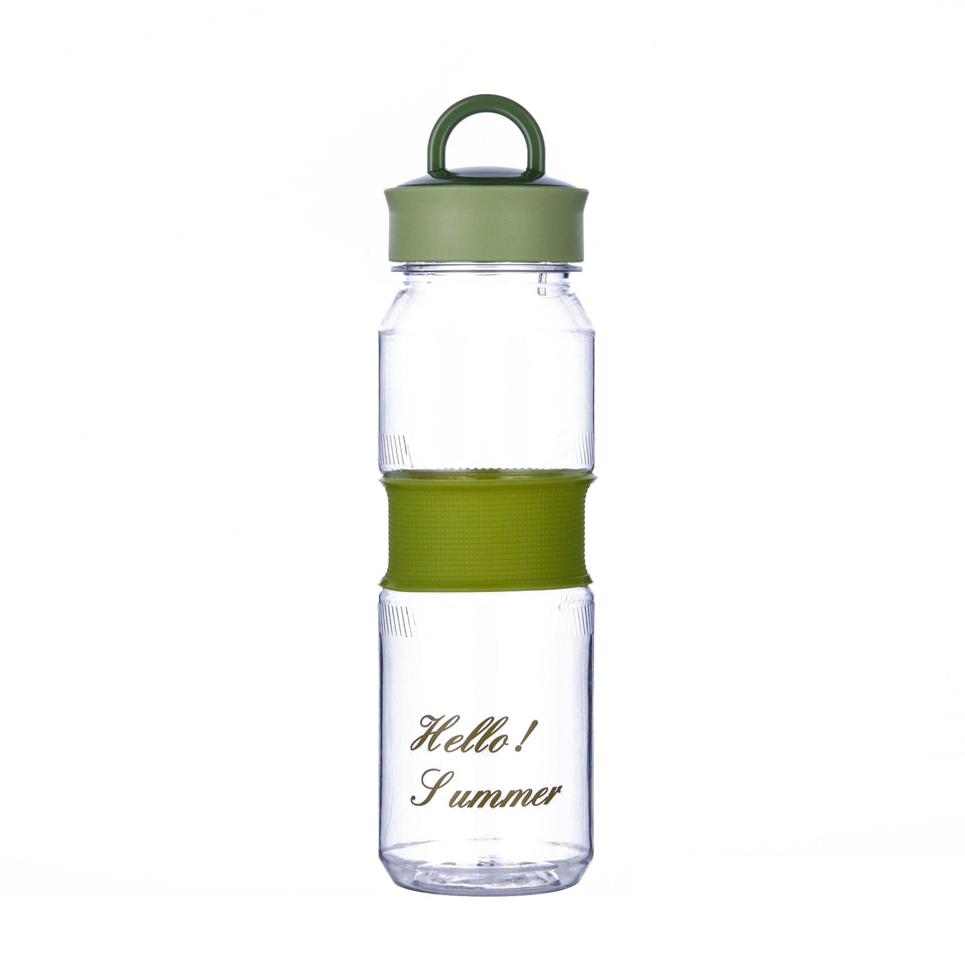 Botellas De Agua Para exteriores, Botellas De plástico transparente, deportivas, personalizadas, Para viaje, entrenamiento, EC50SH