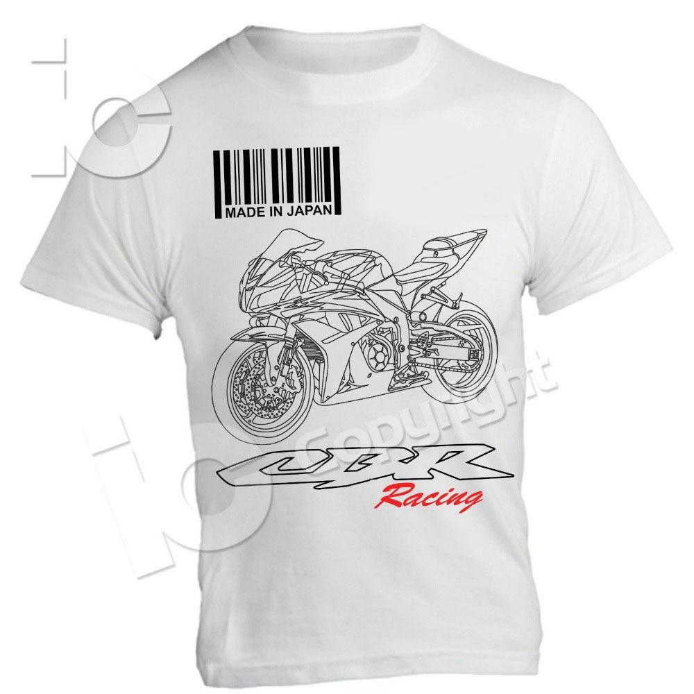Gran oferta Super moda 2019 motocicleta Motorrad camiseta cariño CBR 600 RR carreras Supersport circuito Strada Moto 1000 HRC