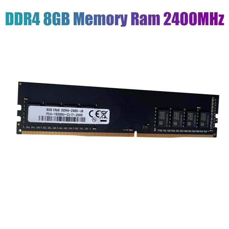 memoria ram ddr4 8gb 2400mhz 12v 284pin suporte para canal duplo para computador amd memoria ram