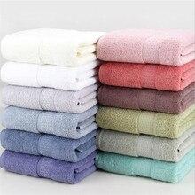 Serviette de bain en coton 17 couleurs 70*140cm   logo de broderie personnalisée, serviette de bain en textile pour la maison, cadeau pour adulte
