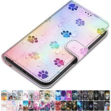 For Case Huawei Mate 10 Lite Mate 20 Lite Mate 30 Pro PU Leather Phone Cover Animal Floral Tower Lov