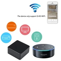 Telecommande universelle infrarouge compatible Wi-Fi  Hub de controle IR pour climatiseur TV DVD  avec Tuya Alexa Google Home