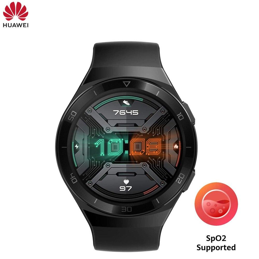 Hot 95% NEW Original HUAWEI WATCH GT 2e SpO2 Blood Oxygen 100 Sport Modes Gt2e 5ATM 1.39 AMOLED Standby Sport Smart Watch