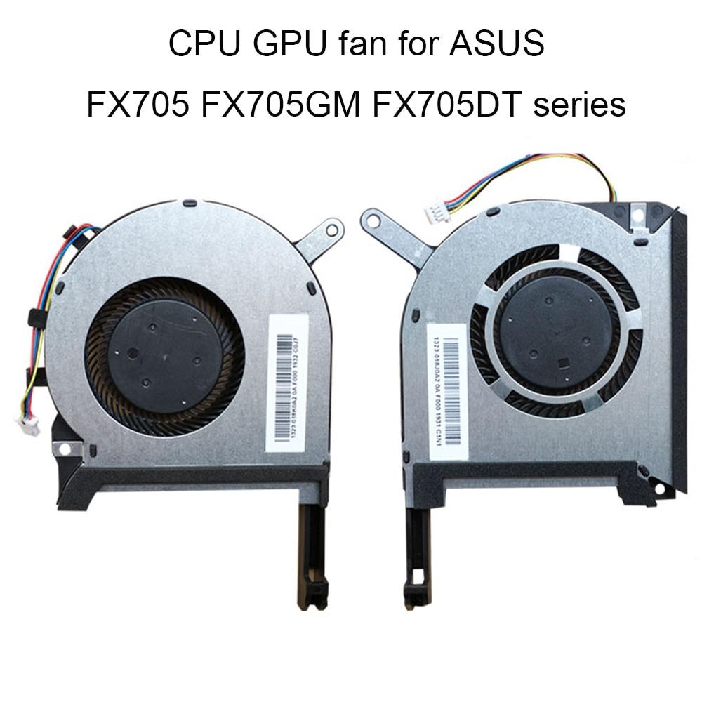 Computer Koelventilator Voor Asus Tuf Gaming FX705 FX705GM FX705GE FX705DT Gpu Cpu Fans Cooler Radiato 5V 4 Pin 13NR00S0M09011 Koop