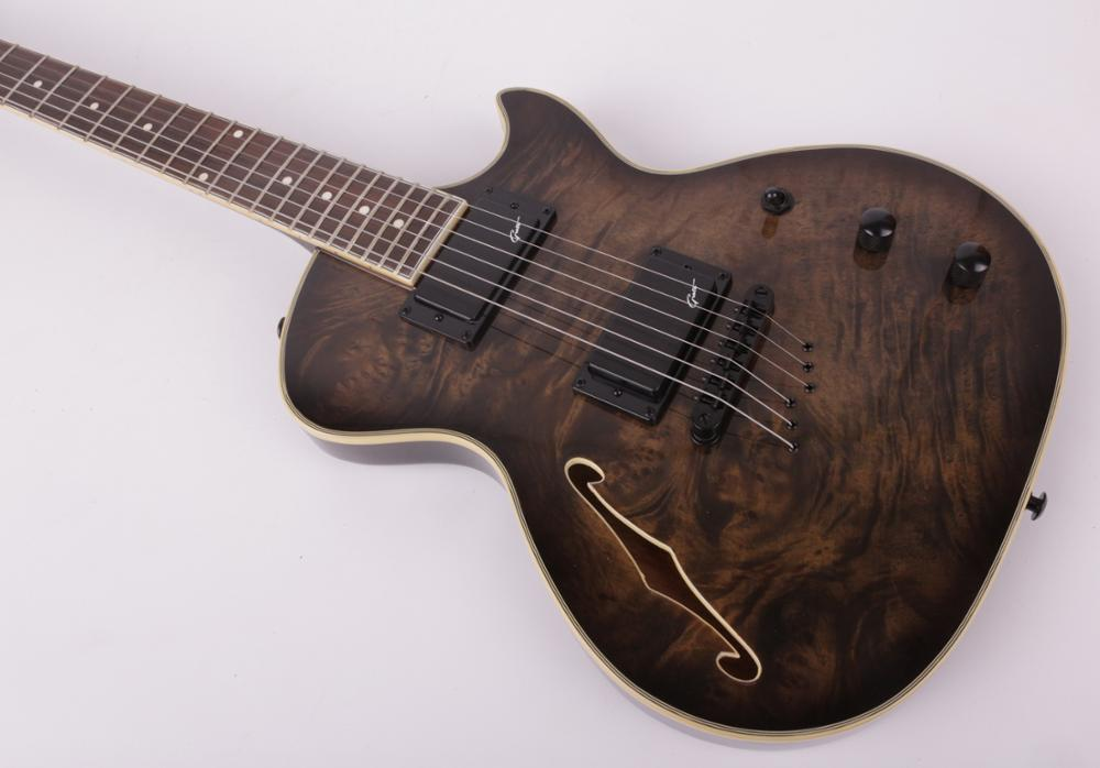 Good quality f hole electric guitar free shipping enlarge