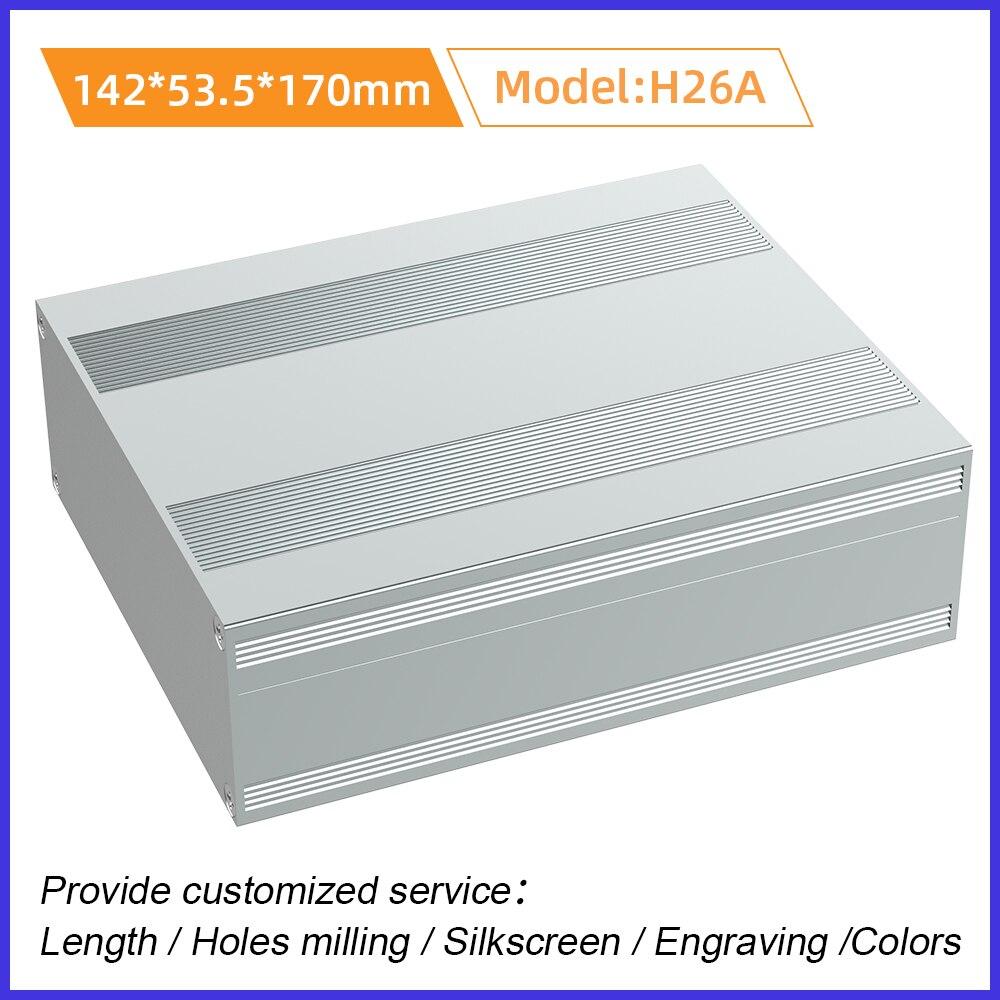 المكونات الإلكترونية الضميمة المتكاملة الإلكترون الإسكان ل لوحة دوائر كهربائية Pcb عالية الجودة H26A 142*53.5 مللي متر