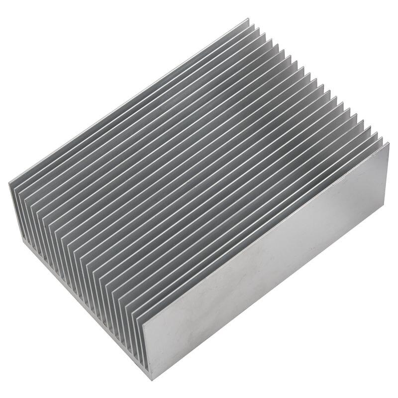 Grande dissipador de calor de alumínio radiador resfriamento barbatana ic led amplificador de calor
