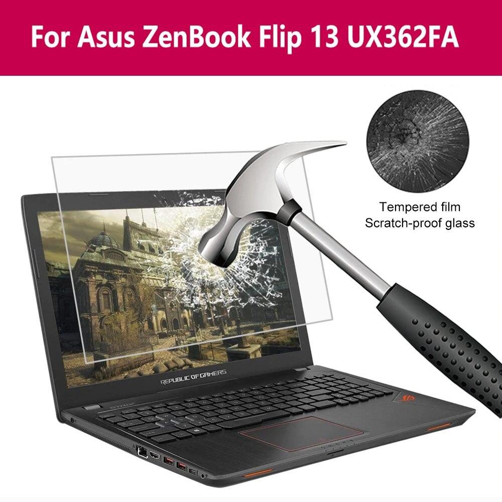 Para asus zenbook flip 13 ux362fa protetor de tela filme vidro protetor vidro temperado 9 h hd