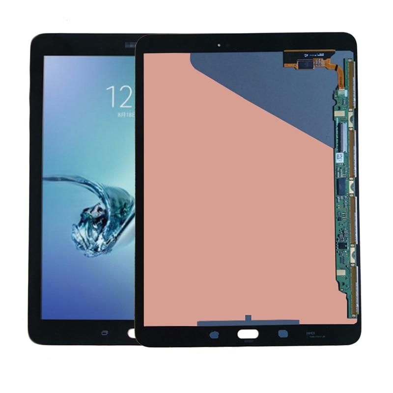 شاشة عرض سامسونج جالاكسي تاب S2 9.7 T810 T813 الأصلي LCD T815 T819 شاشة تعمل باللمس محول الأرقام الجمعية إصلاح